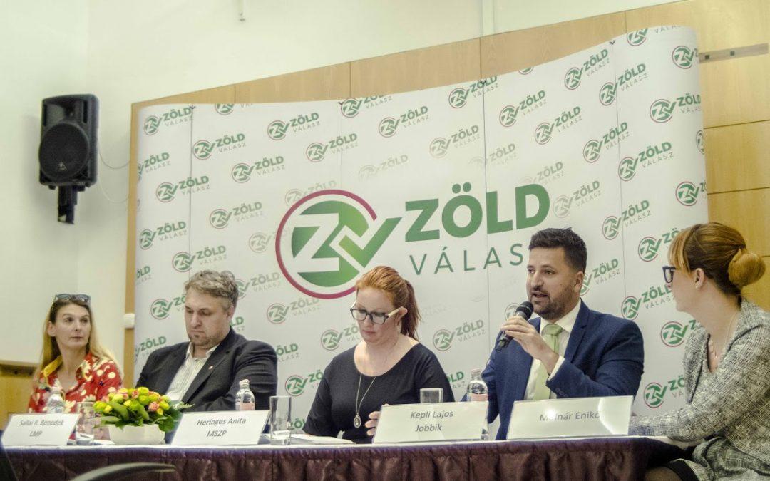 Politikai akarat kérdése a megoldás? – a Zöld Válasz Egyesület konferenciája