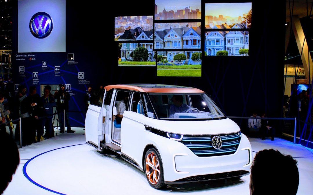 Bemutatta elektromos járművét a Volkswagen Moia