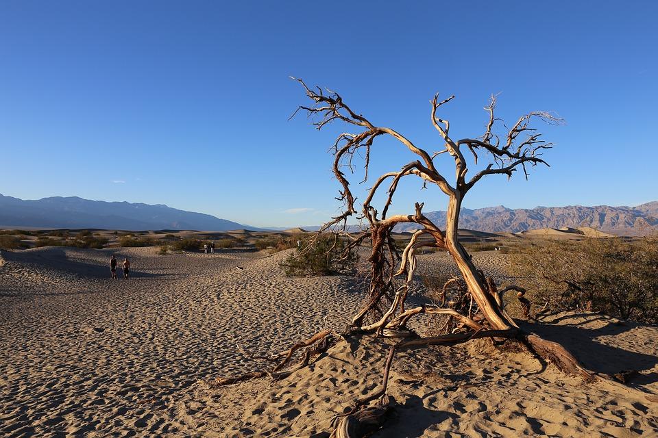 Megdőlt a legforróbb hónap világrekordja az amerikai Halál-völgyben